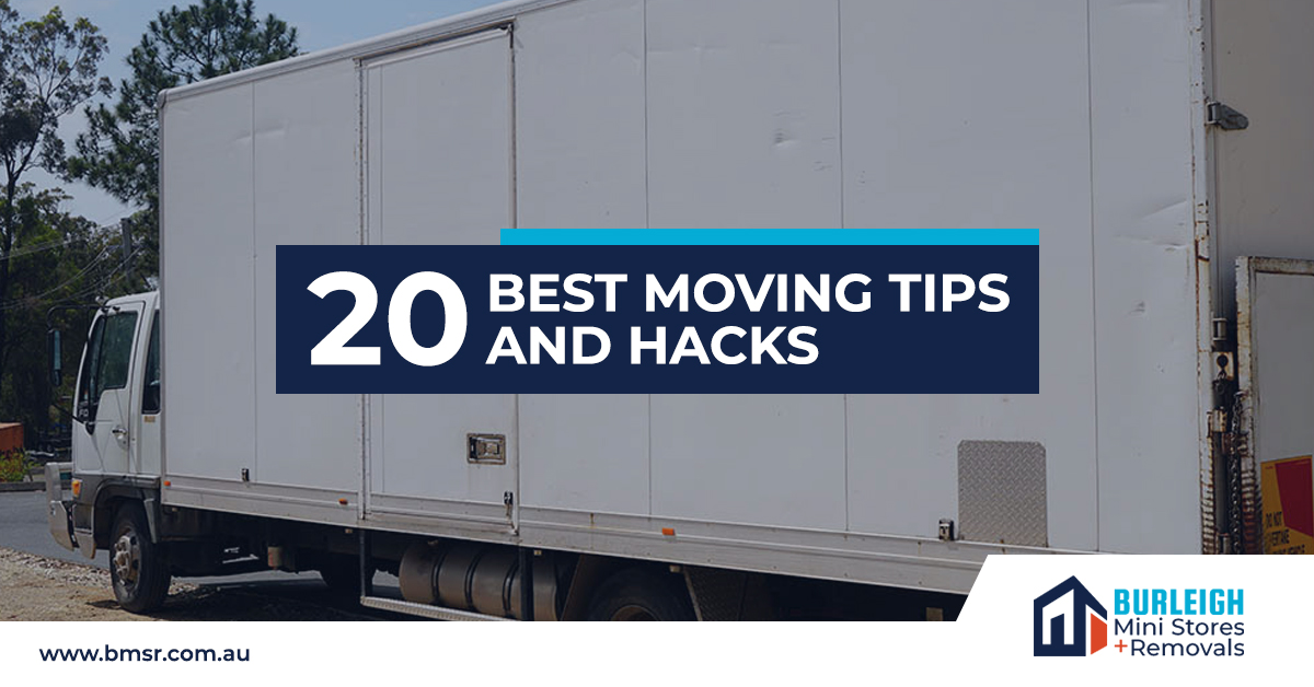 20 best moving tips and Hacks