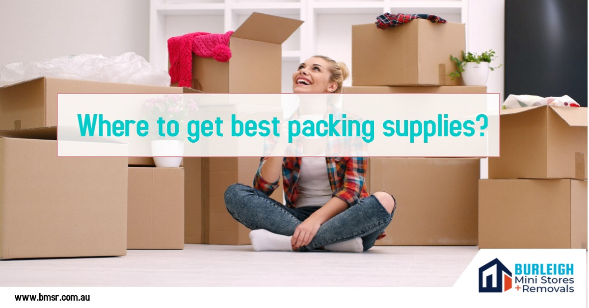 Where to get best packing supplies?