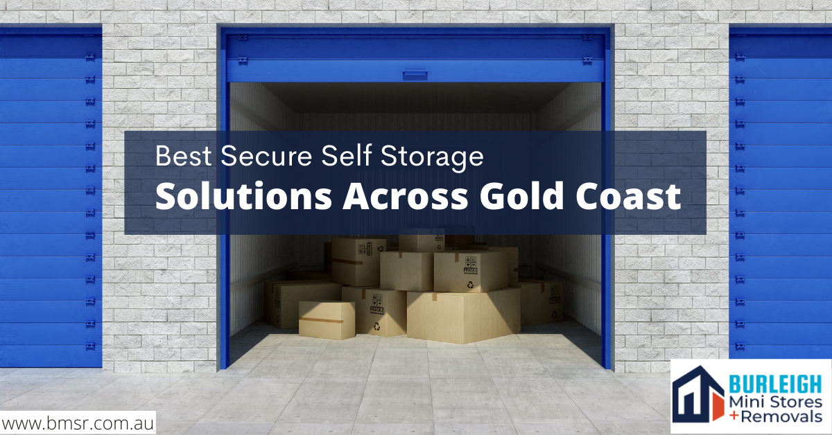 Best Secure Self Storage Solutions Across Gold Coast