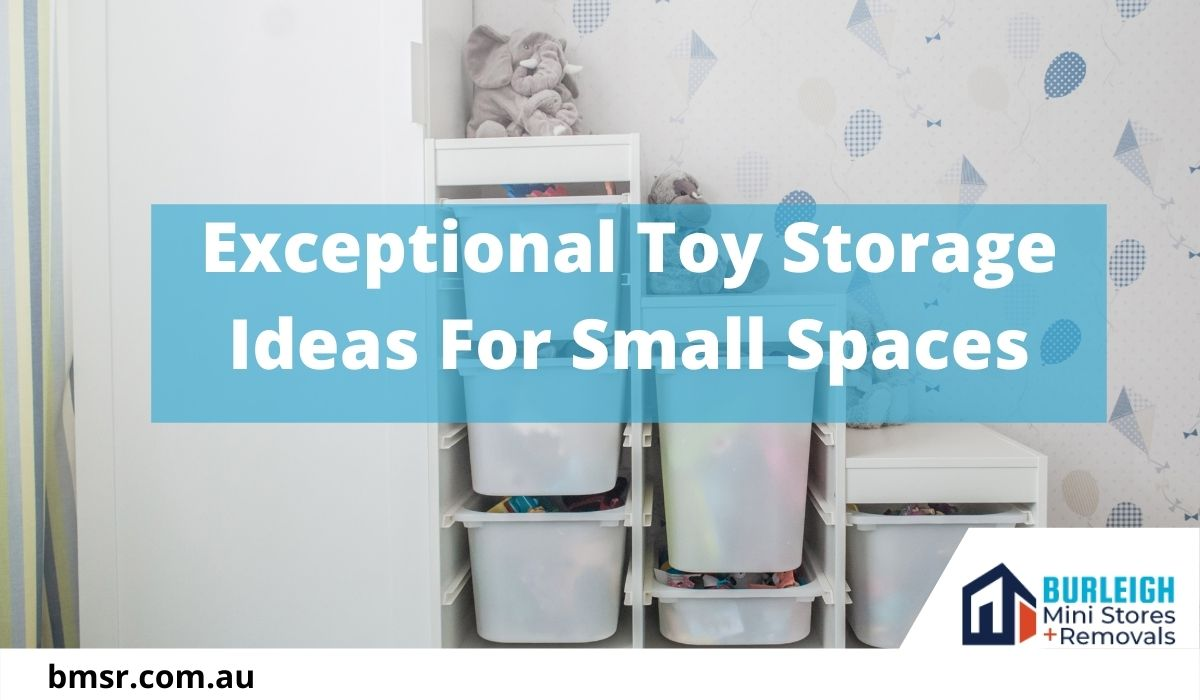 Exceptional Toy Storage Ideas For Small Spaces