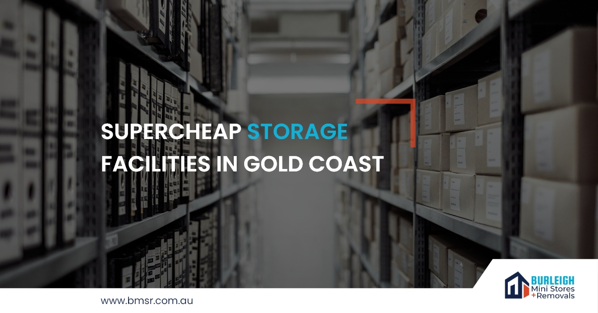 Super cheap Storage Facilities in Gold Coast